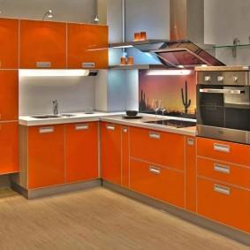réparation de cuisine avec une superficie de 9 m² photo intérieur