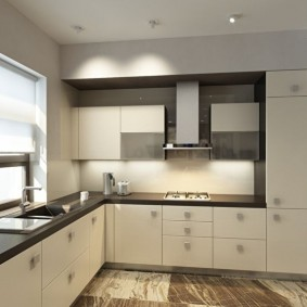 rénovation de cuisine d'une superficie de 9 m² idées intérieures