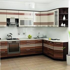 rénovation de cuisine d'une superficie de 9 m² idées intérieur