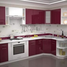 rénovation de cuisine d'une superficie de 9 m² idées photo