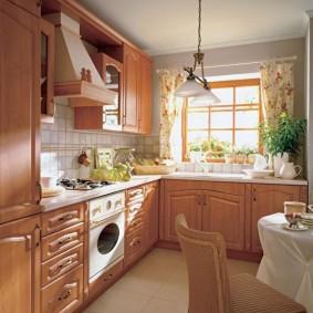réparation de cuisine d'une superficie de 9 m² design d'idées