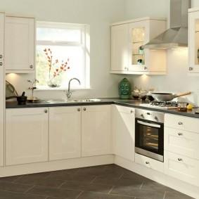 zone de réparation de cuisine de 9 m² options photo