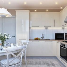 rénovation de cuisine d'une superficie de 9 m² options idées