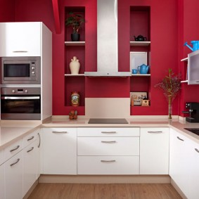 réparation de cuisine d'une superficie de 9 m² idées photo
