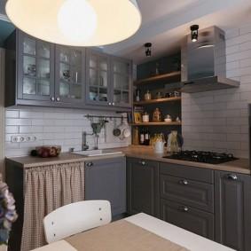 rénovation de cuisine d'une superficie de 9 m² aperçu