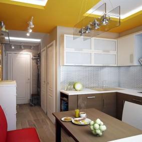 rénovation de cuisine d'une superficie de 9 m² de décoration