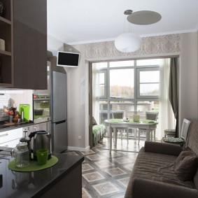 rénovation de la cuisine zone de 9 m² idées design