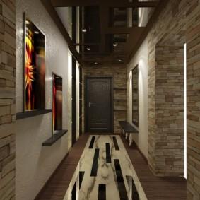Projet de conception de l'intérieur du couloir