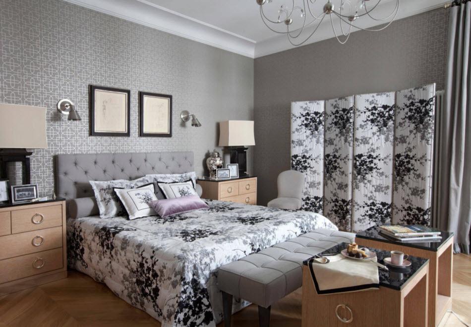 Sélection d'un écran pour les textiles dans une chambre