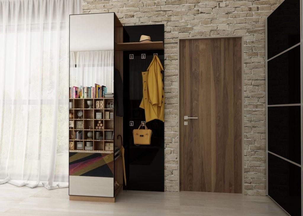 Armoire-cas dans le style loft couloir