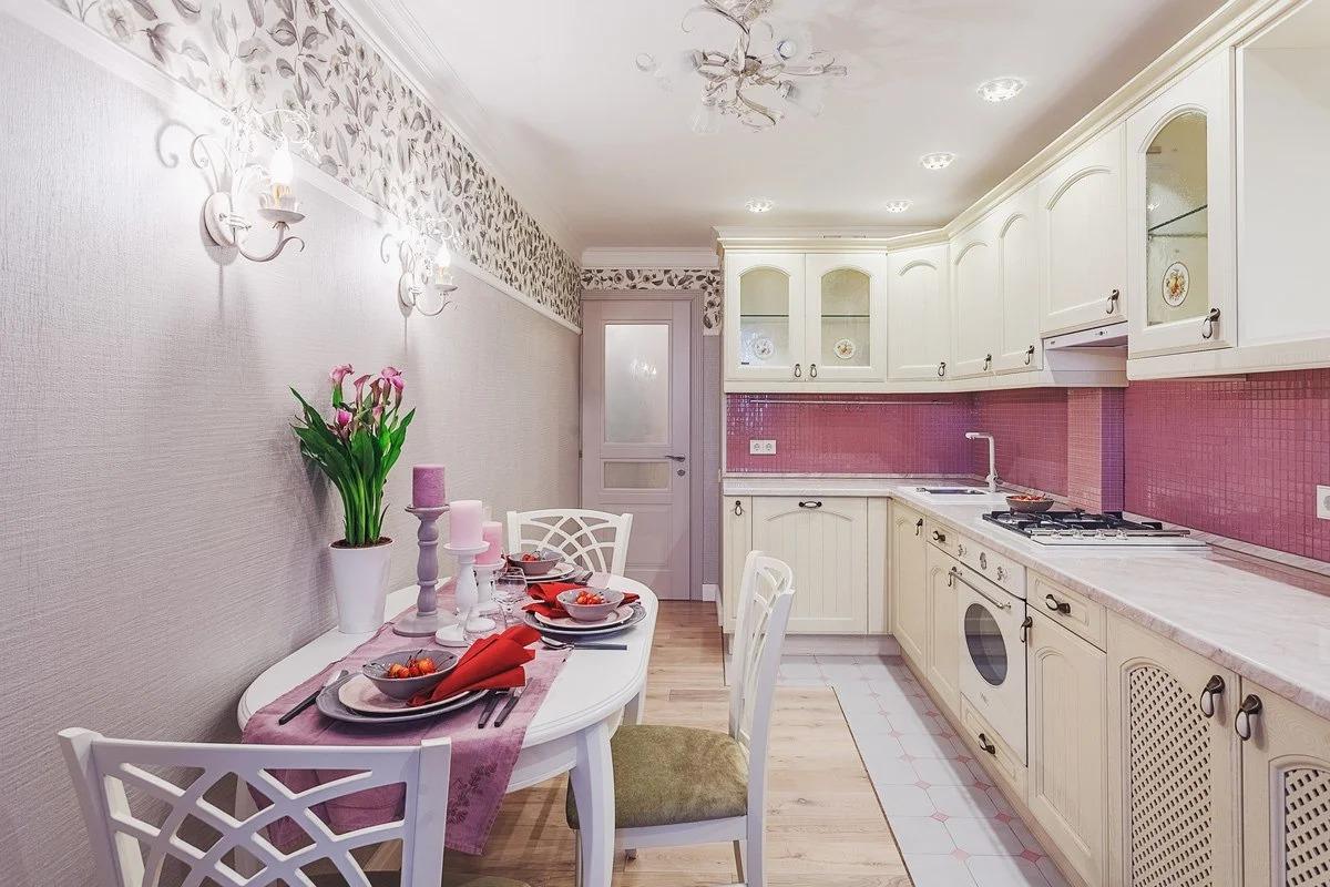 papier peint lilas provence