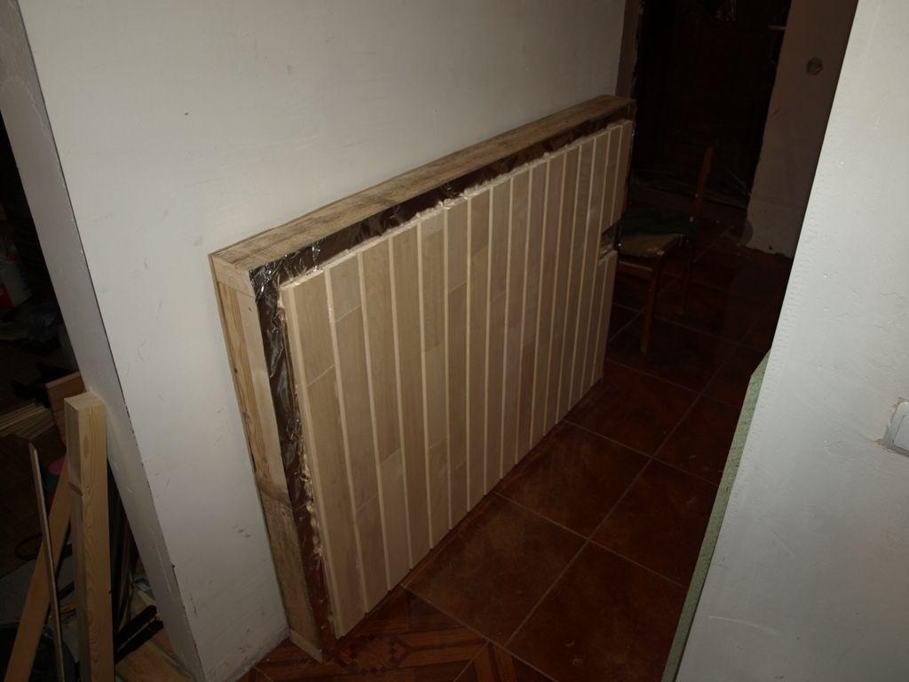 Plafond prêt à l'emploi pour un sauna de balcon