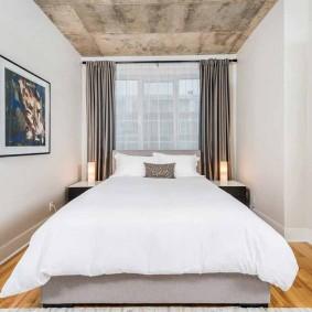 examen de la chambre à coucher moderne