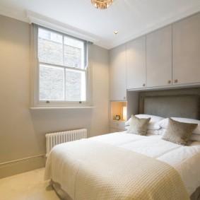 vues de la chambre à coucher moderne