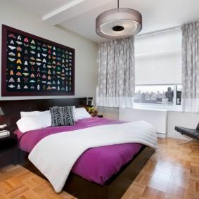 intérieur d'idées de chambre à coucher moderne