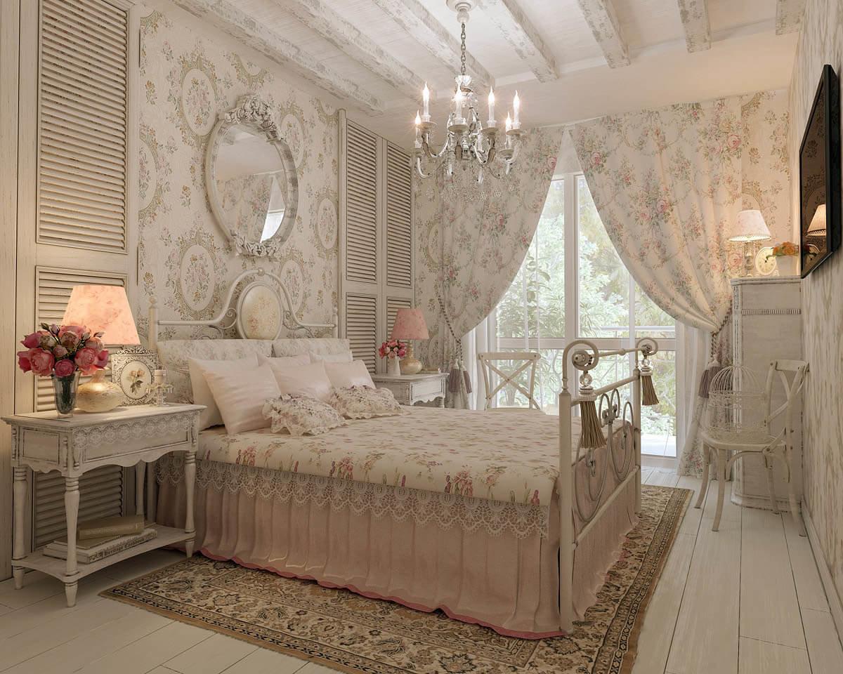 Chambre de style Provence