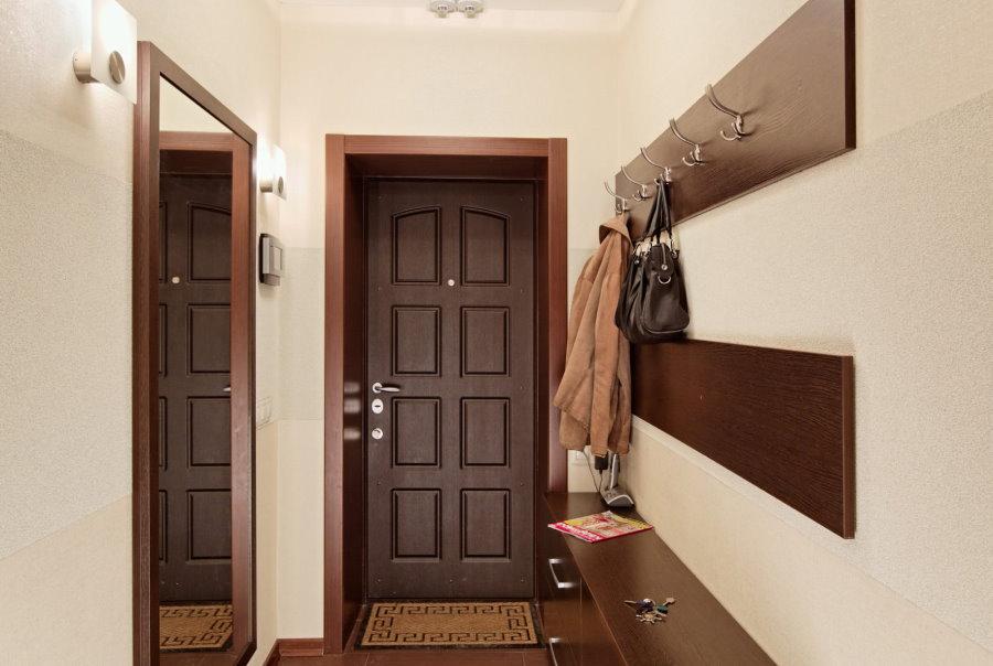 Intérieur de couloir de style moderne