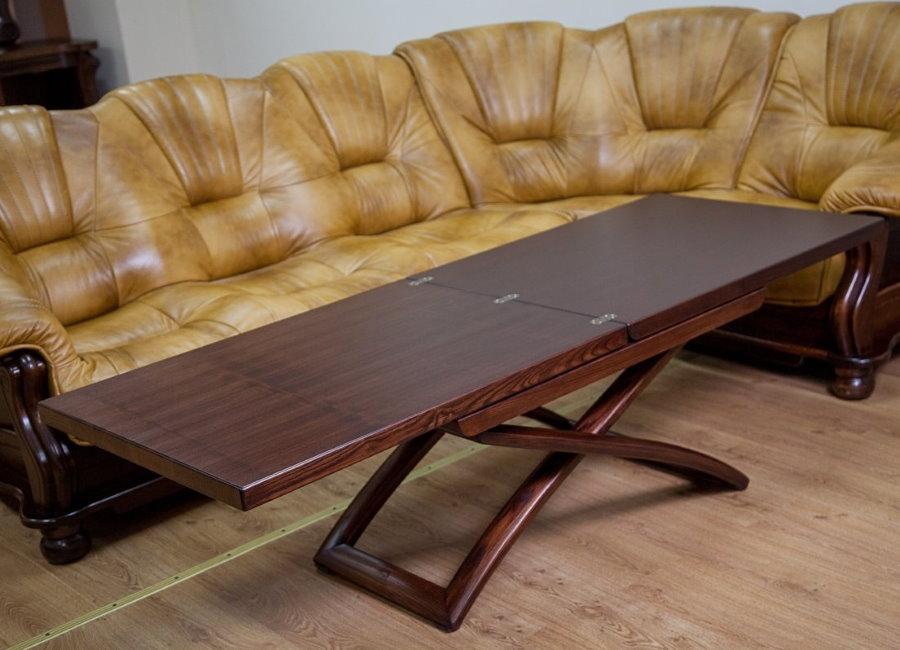 Table basse hybride en bois