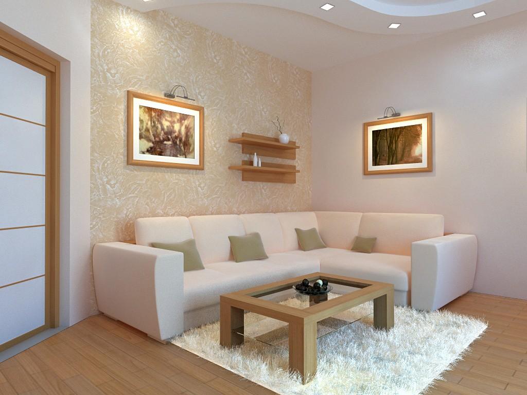 Coin d'un salon avec un canapé confortable