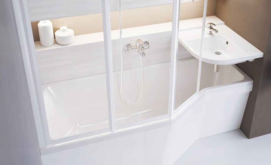 baignoire avec lavabo