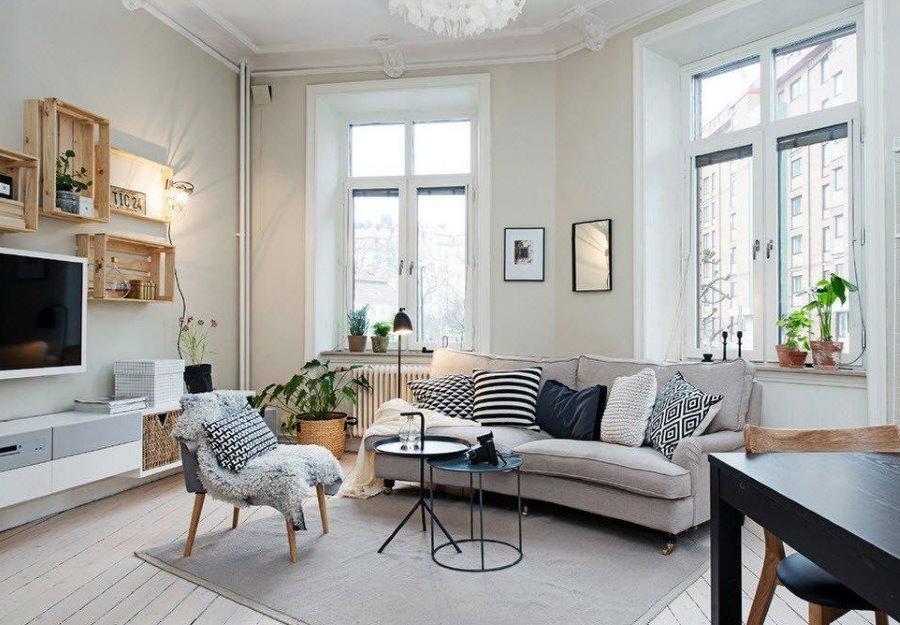Meubles de salon de style scandinave