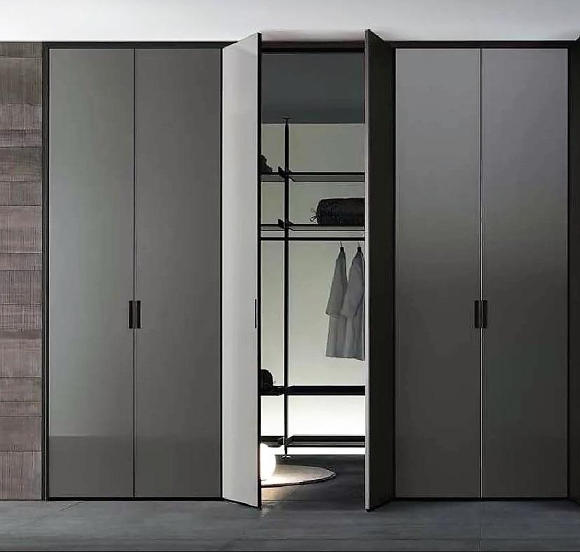 armoire à charnière grise
