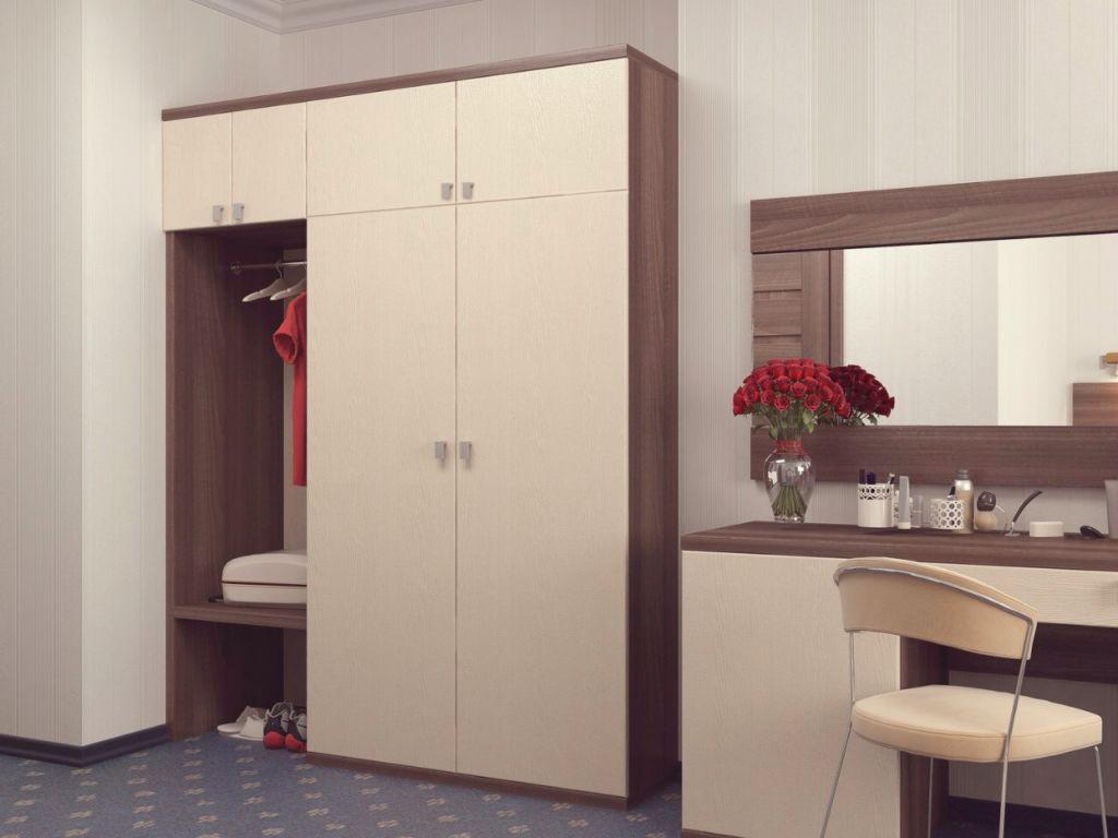 armoire pivotante dans la conception et la conception du couloir