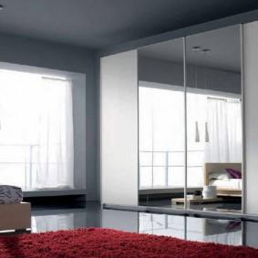 خزانة ملابس لتصميم غرفة النوم