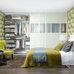 خزانة لأفكار تصميم غرفة النوم