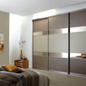 خزانة لتصميم الأفكار غرفة النوم
