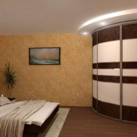 خزانة ملابس لغرفة نوم ديكور الصورة