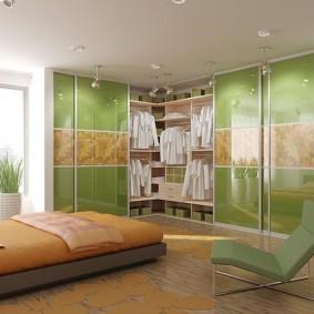 خزانة لأفكار ديكور غرفة النوم