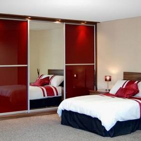 خزانة ملابس لأفكار ديكور غرفة النوم