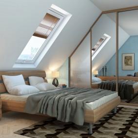 خزانة الملابس الداخلية لغرفة نوم