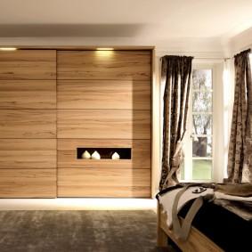 خزانة الملابس لأفكار الديكور غرفة النوم