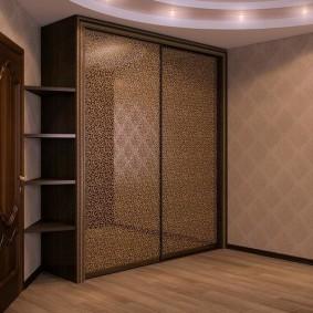 خزانة ملابس لأنواع ديكور غرفة النوم