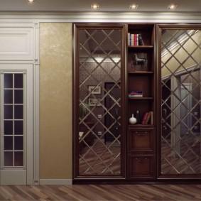 armoire avec portes battantes aux types d'idées hall