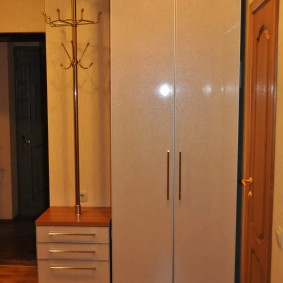 armoire avec portes battantes pour les idées de hall d'entrée