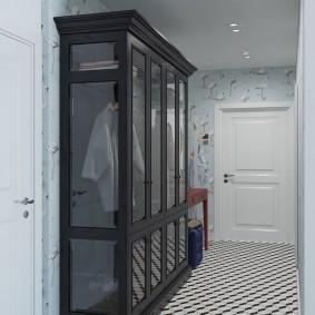 armoire avec portes battantes aux idées de photo de couloir